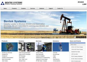 Industrial Company Main Page with SEO